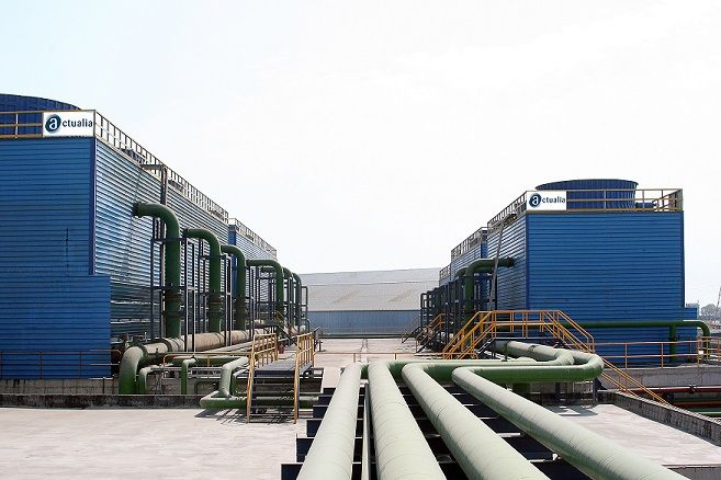 plantas de torres de refrigeración