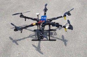 uso del dron en el sector de la sanidad ambiental