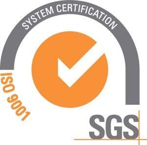 logo ISO 9001 de certificadora SGS