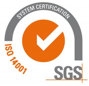 logo ISO 14001 por certificadora SGS