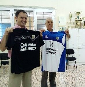 presentación Actualia patrocinando el Basket Alicante