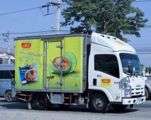 legislación aplicable a camión de transporte alimentario