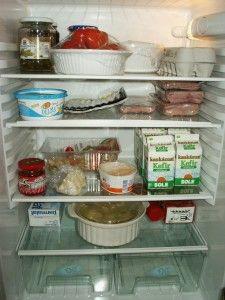 refrigeración de los alimentos en la nevera