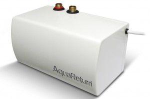 Equipo AquaReturn para mejorar la calidad del agua