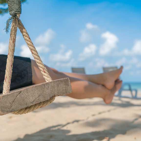 Goce en una playa con servicio de Calidad Turístico