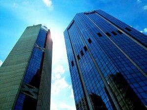 Edificio-oficina sometidos a la calidad del aire interior