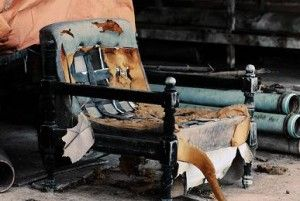 plagas por acumulación de muebles viejos y abandonados