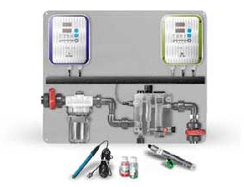 equipo de sistema de cloración automática