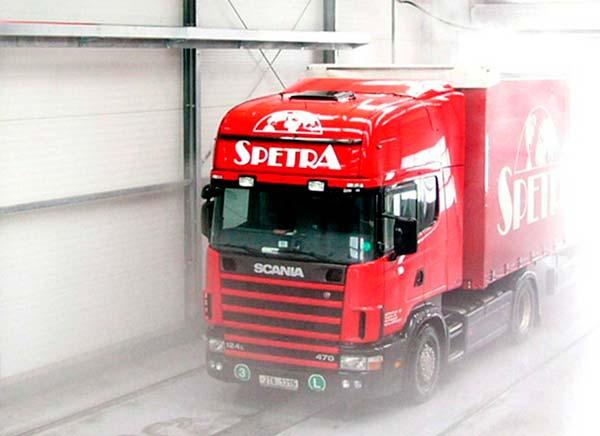 Obtener IFS Logistics en servicio de camión distribución