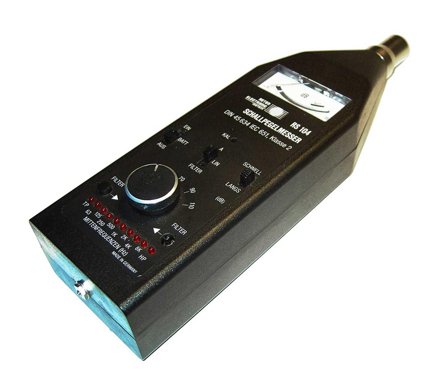 aparato para medir el nivel de ruido usado por asesores
