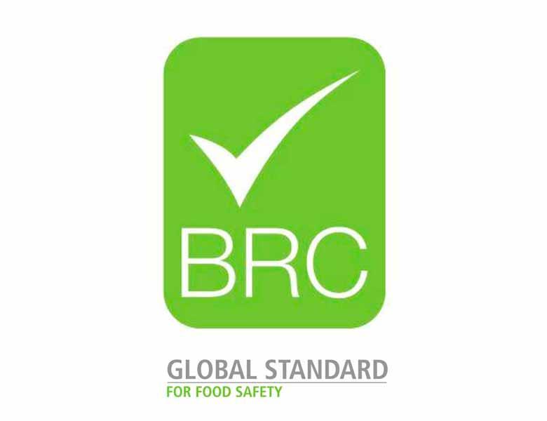 logo certificado BRC
