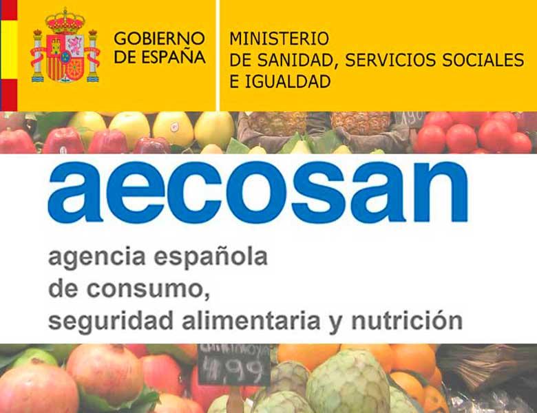 AECOSAN exige el registro alimentario RGSEAA