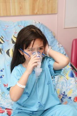 niña hospitalizada por el contagio de legionella