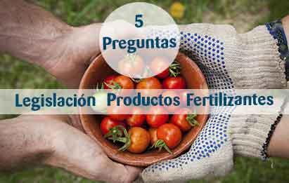 cinco preguntas de legislación de fertilizantes