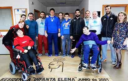 Acción Solidaria Actualia a la Asociación de Paralíticos Cerebrales de Alicante