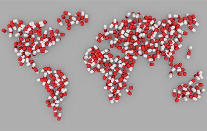 transporte medicamentos al mundo