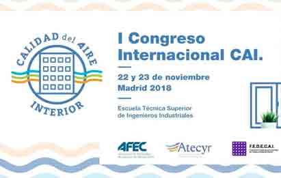 logo del I Congreso Internacional CAI