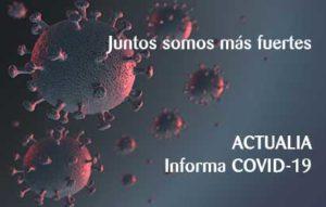 Información actualizada del COVID-19